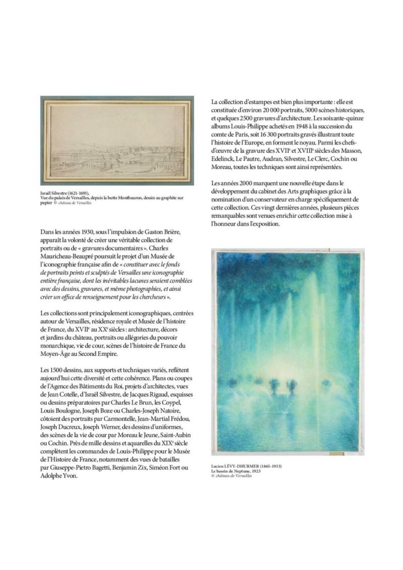 Expo. Dessins pour Versailles, Vingt ans d'acquisitions Commun12