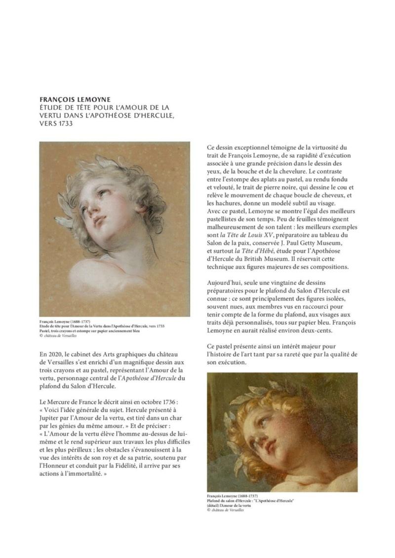 Expo. Dessins pour Versailles, Vingt ans d'acquisitions Commun13