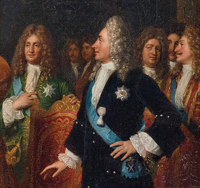 Un Tsar en France, Pierre le Grand et la cour de Louis XV Cote-d10