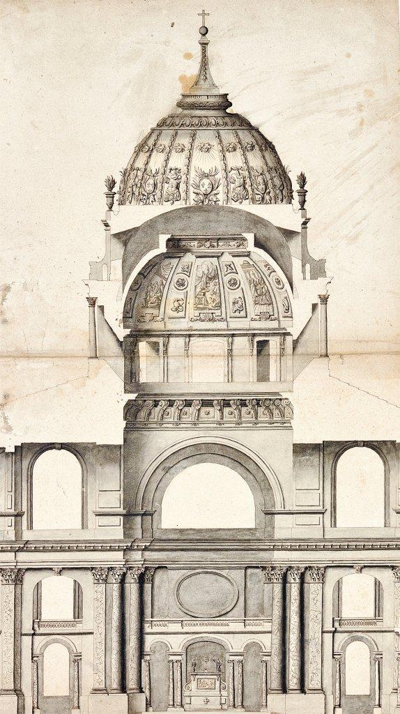 utopiques - Expo : Les Architectures rêvées (1660-1815) Coupe-10