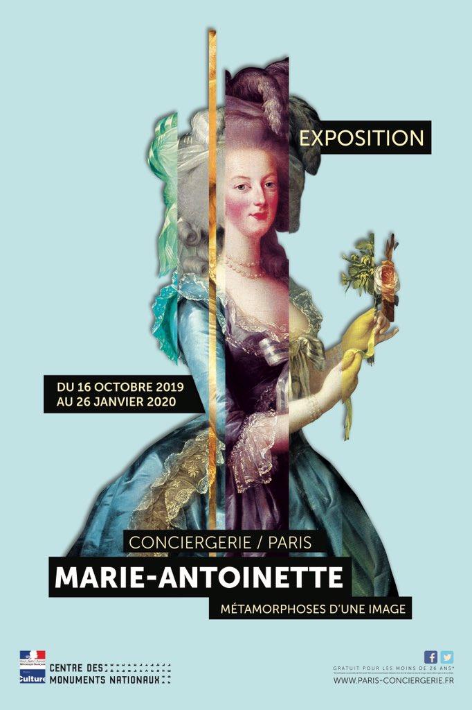 Conciergerie : Marie-Antoinette métamorphoses d'une image D7jyfb10