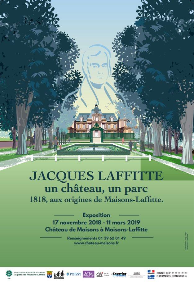 Jacques Laffitte, un château un parc - 1818 Maisons-Laffitte Dr1ntk10