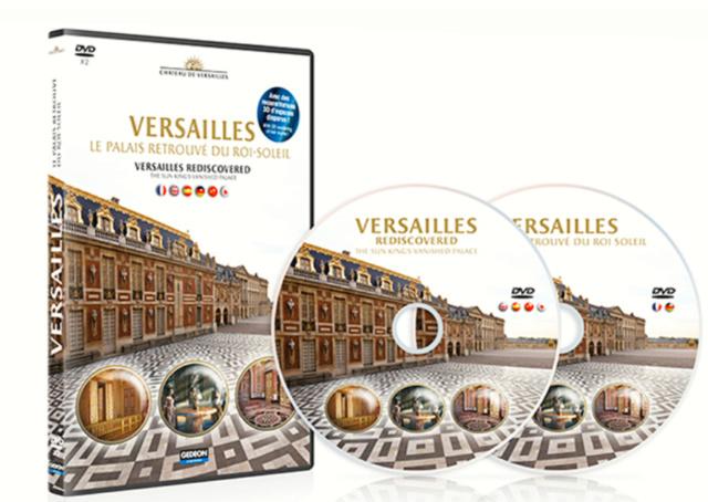 Arte : Versailles, le palais retrouvé du Roi-Soleil Dvd_ve10