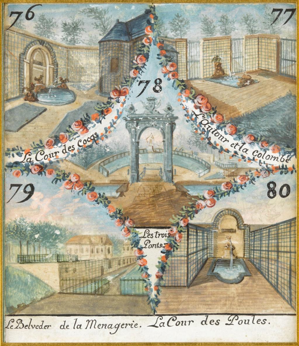 Chantilly, La ménagerie princière de Chantilly  E-6i8_10