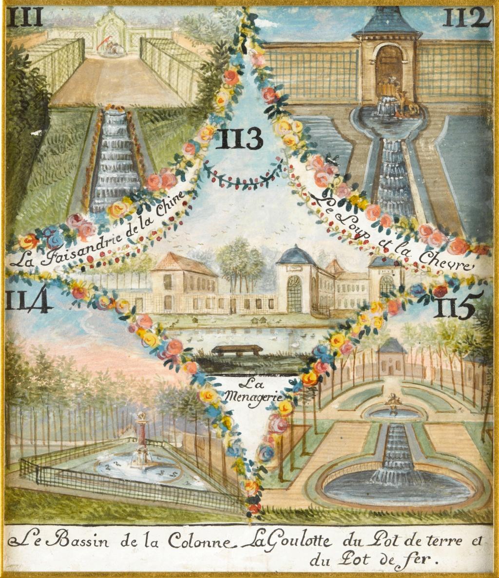 Chantilly, La ménagerie princière de Chantilly  E-6i8_11