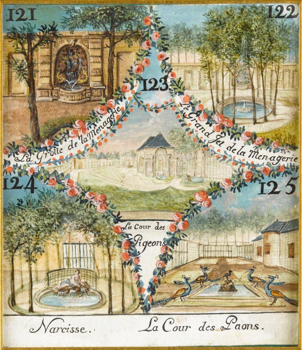 Chantilly, La ménagerie princière de Chantilly  E-6i9d10