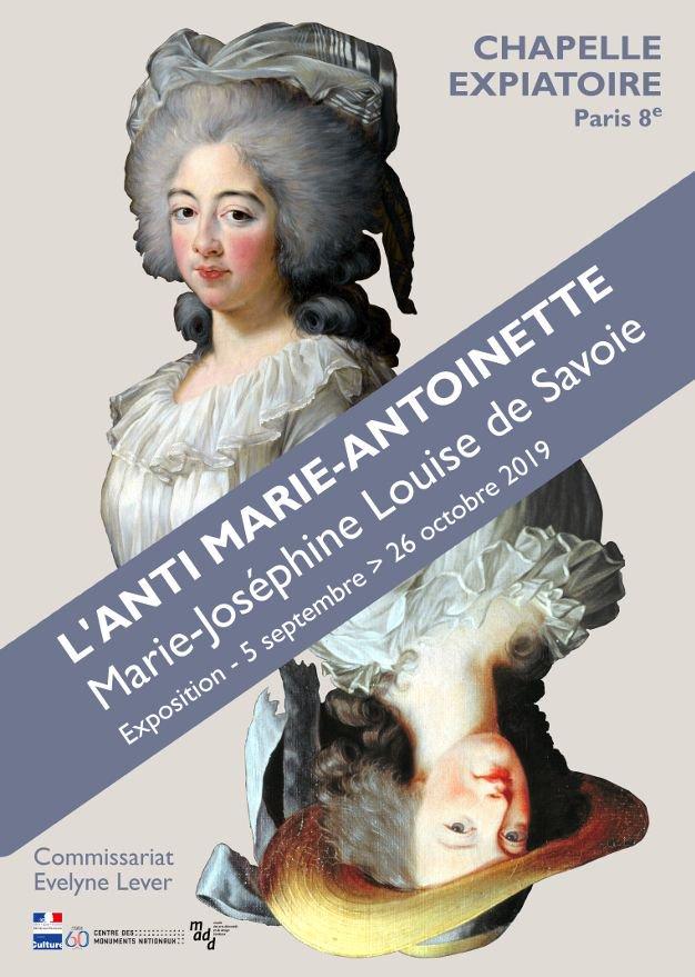 Chapelle expiatoire : expo Marie-Joséphine Louise de Savoie Edzdrn10