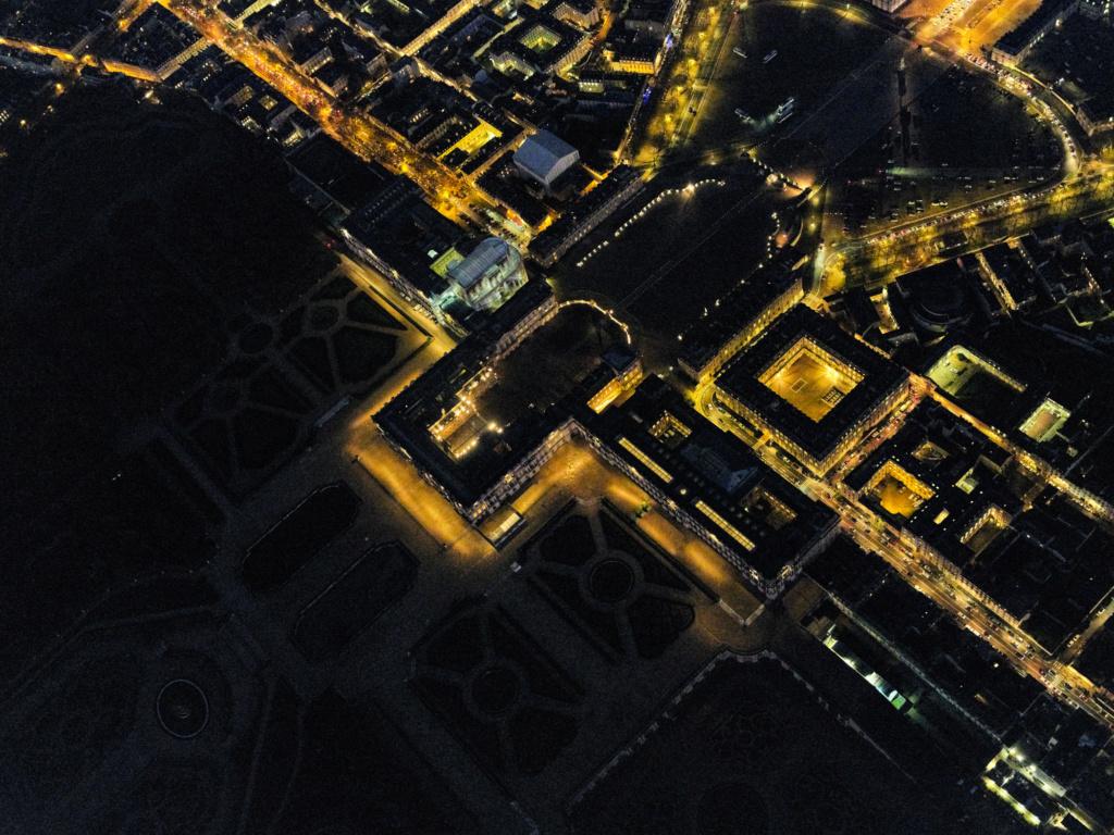 Versailles vu du ciel.  Elgrc210