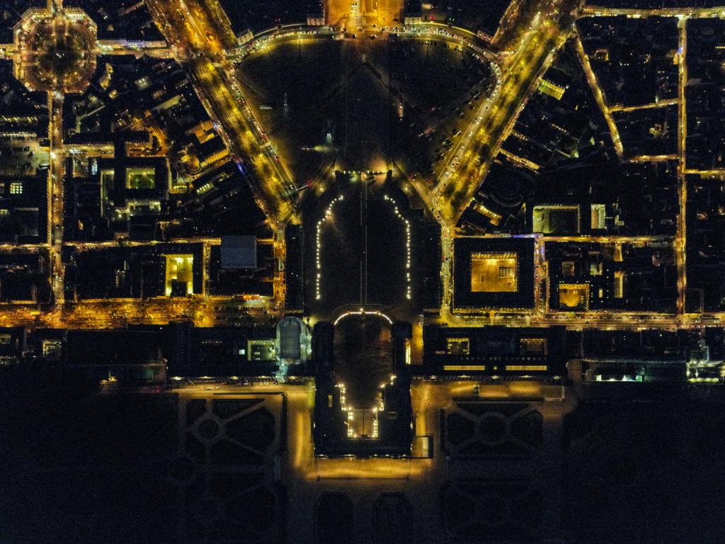 Versailles vu du ciel.  Elgrc310
