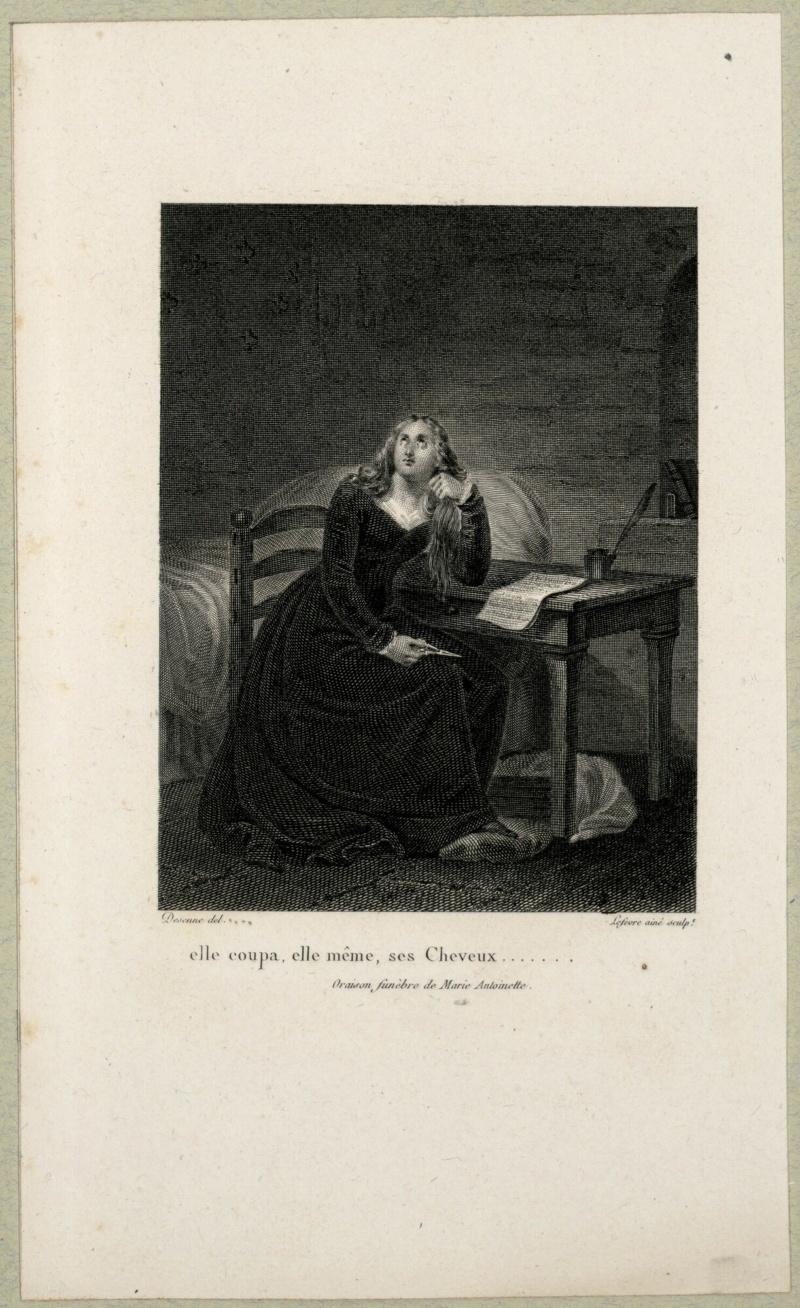 Conciergerie : Marie-Antoinette métamorphoses d'une image Estamp10