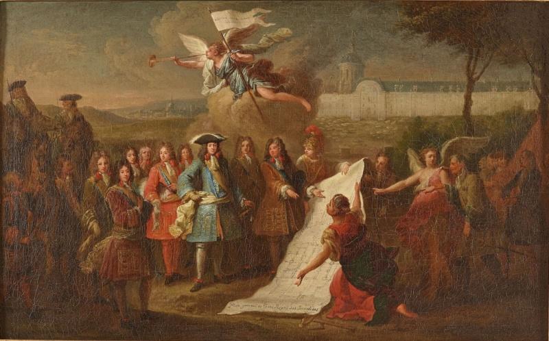 Exposition : Le château de Meudon, au siècle de Louis XIV Fondat10