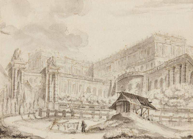 Expo. Dessins pour Versailles, Vingt ans d'acquisitions Lavand10