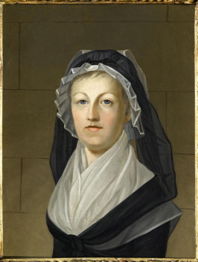 Conciergerie : Marie-Antoinette métamorphoses d'une image Marie_12