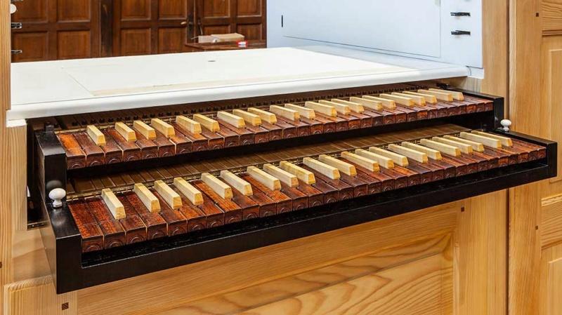 Orgues du facteur Blumenroeder pour le château de Versailles Orgue110