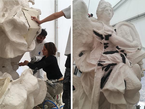 Visite à l'atelier de restauration des sculptures du C2RMF - Page 2 Sans-t13