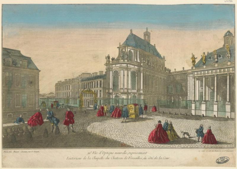 Trésors de Richelieu: vues d'optique de la bibliothèque INHA Scree172