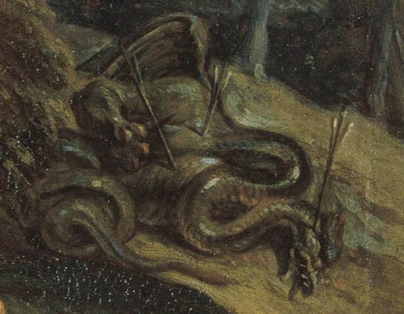 Le dragon-serpent, monstre mythologique  Scree255