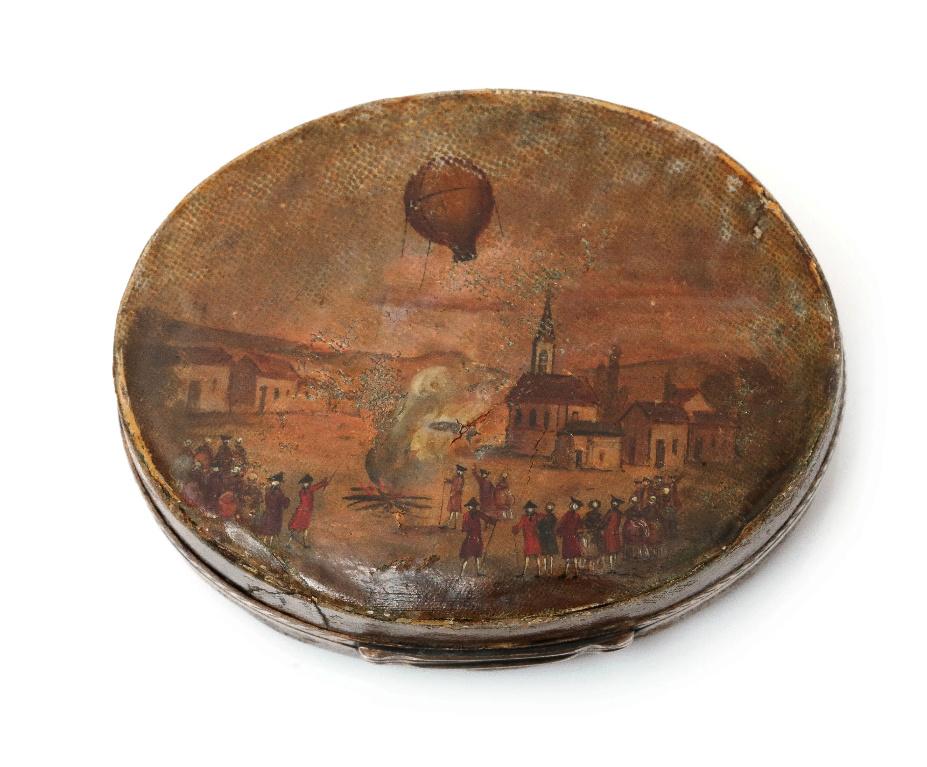 Montgolfier et Montgolfiere, ballon à Versailles Scree339