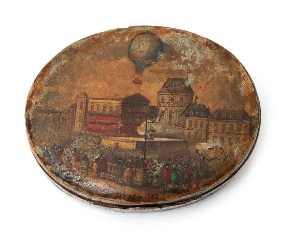 Montgolfier et Montgolfiere, ballon à Versailles Scree340