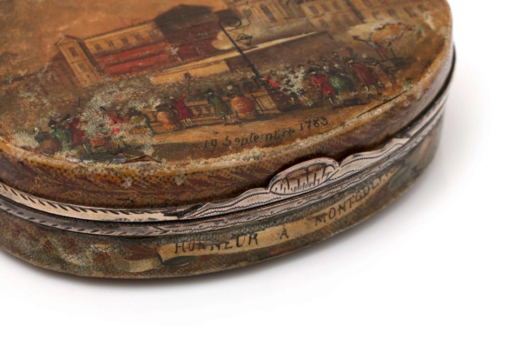 Montgolfier et Montgolfiere, ballon à Versailles Scree343