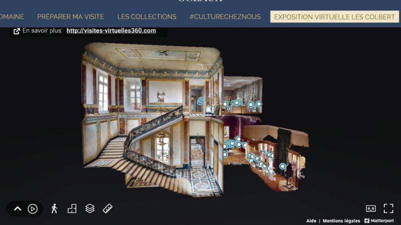 """Sceaux Exposition """"Les Colbert ministres et collectionneurs"""" Scree377"""