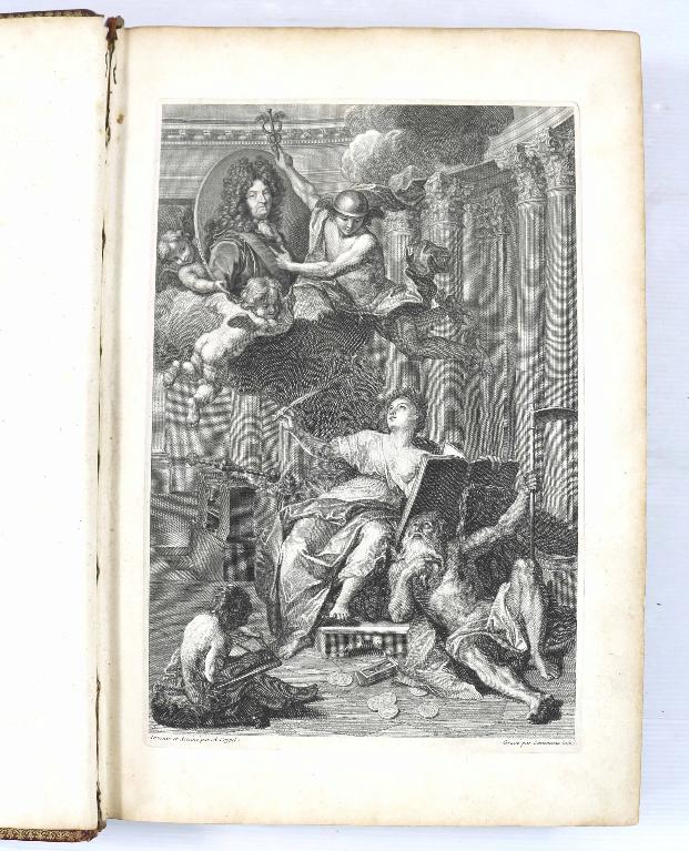 Les médailles de Louis XIV et leur livre Scree381
