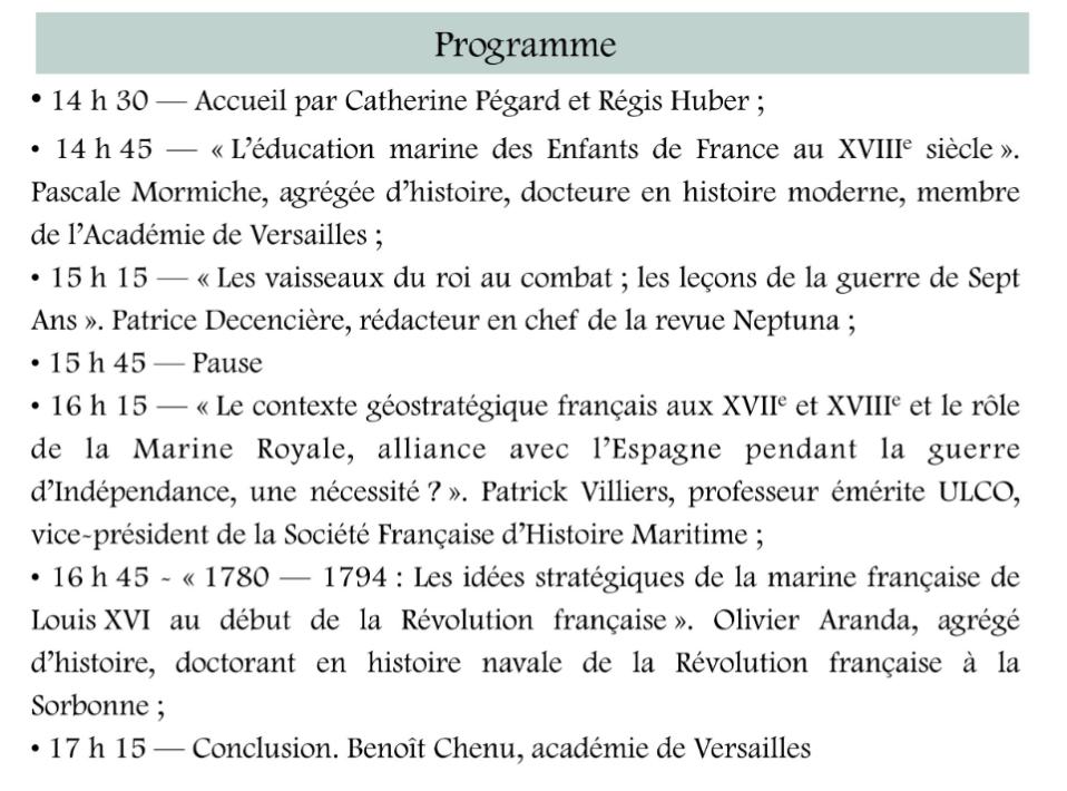 Colloque Versailles et l'apogée de la Marine royale 2021 Scree532