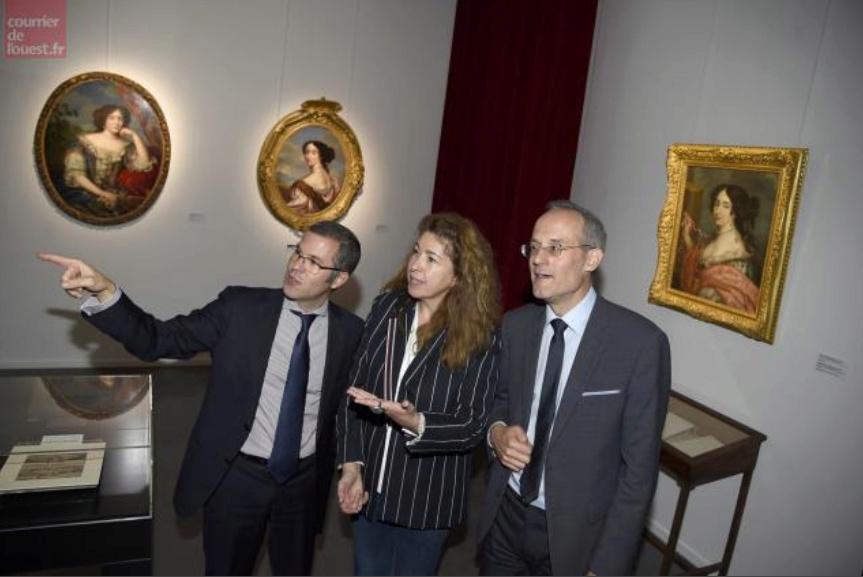 Expo Mme de Maintenon au Musée d'Agesci à Niort Screen48