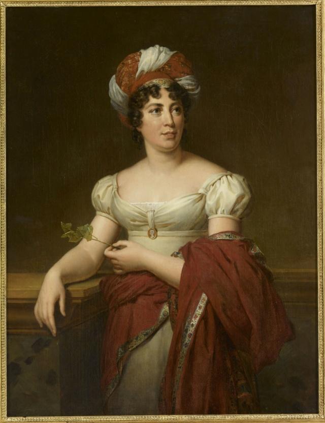 """Musée du Luxembourg Exposition """"Peintres femmes, 1780-1830"""" Stael_10"""