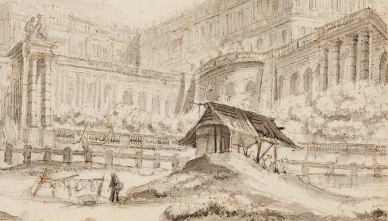 Expo. Dessins pour Versailles, Vingt ans d'acquisitions V_201911