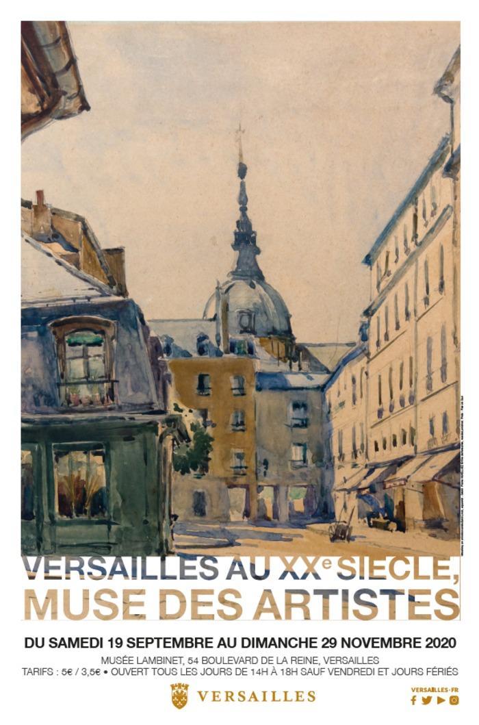 Expo lambinet : Versailles au XXe siècle, muse des artistes Visite10