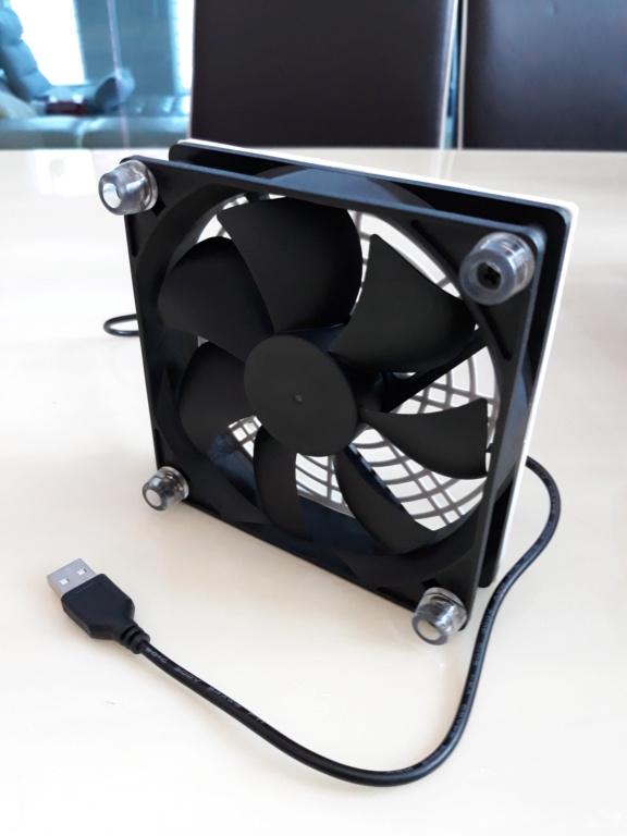 Compact ventilation fan for amplifiers.  20180717