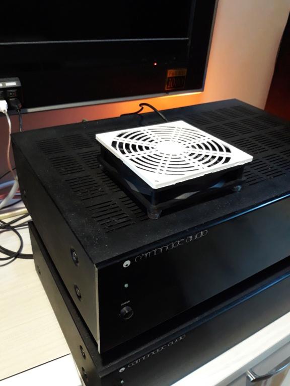 Compact ventilation fan for amplifiers.  20180718