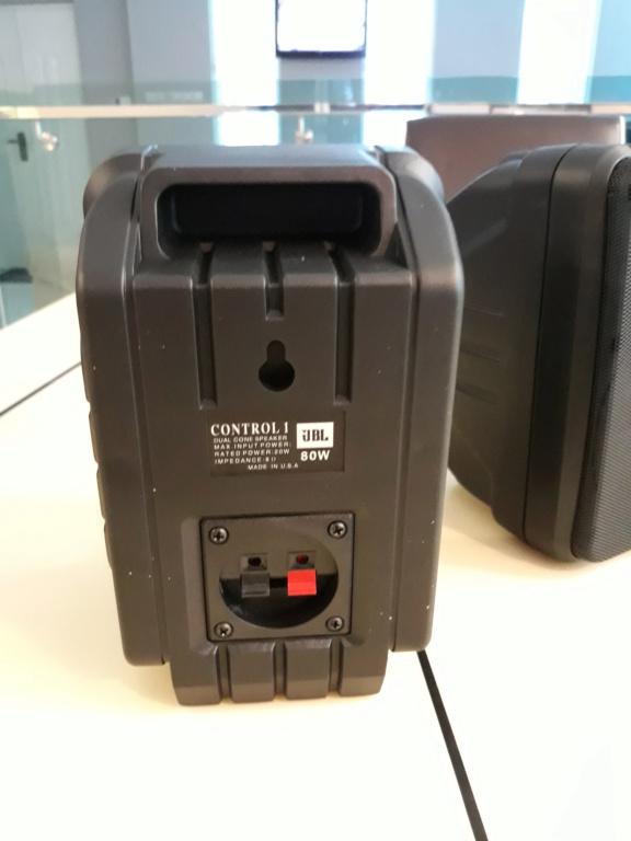 Jbl Control 1 surround retro speaker.  20180919