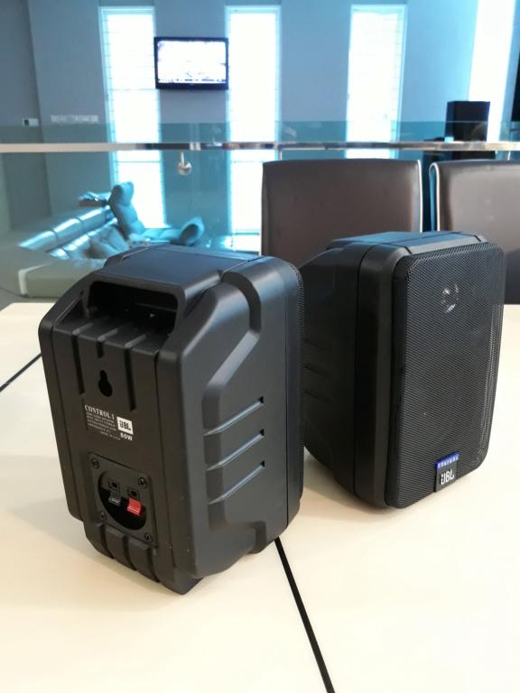 Jbl Control 1 surround retro speaker.  20180920