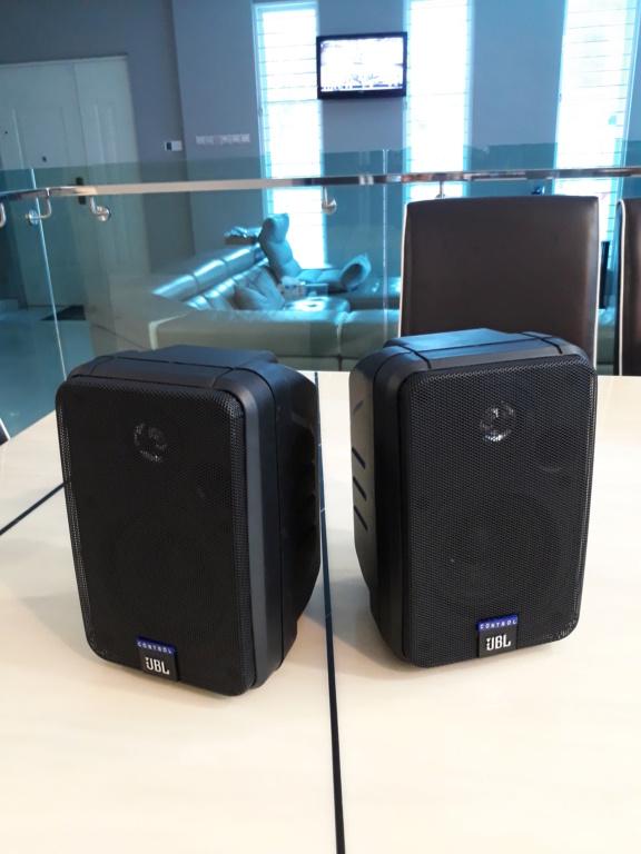 Jbl Control 1 surround retro speaker.  20180921