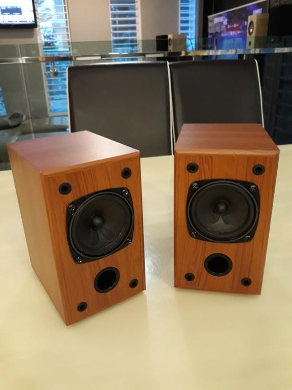 """Nikkodo 3"""" full range speakers.  20181014"""