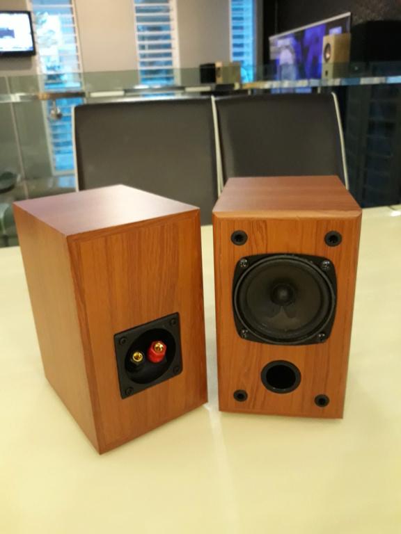 """Nikkodo 3"""" full range speakers.  20181015"""