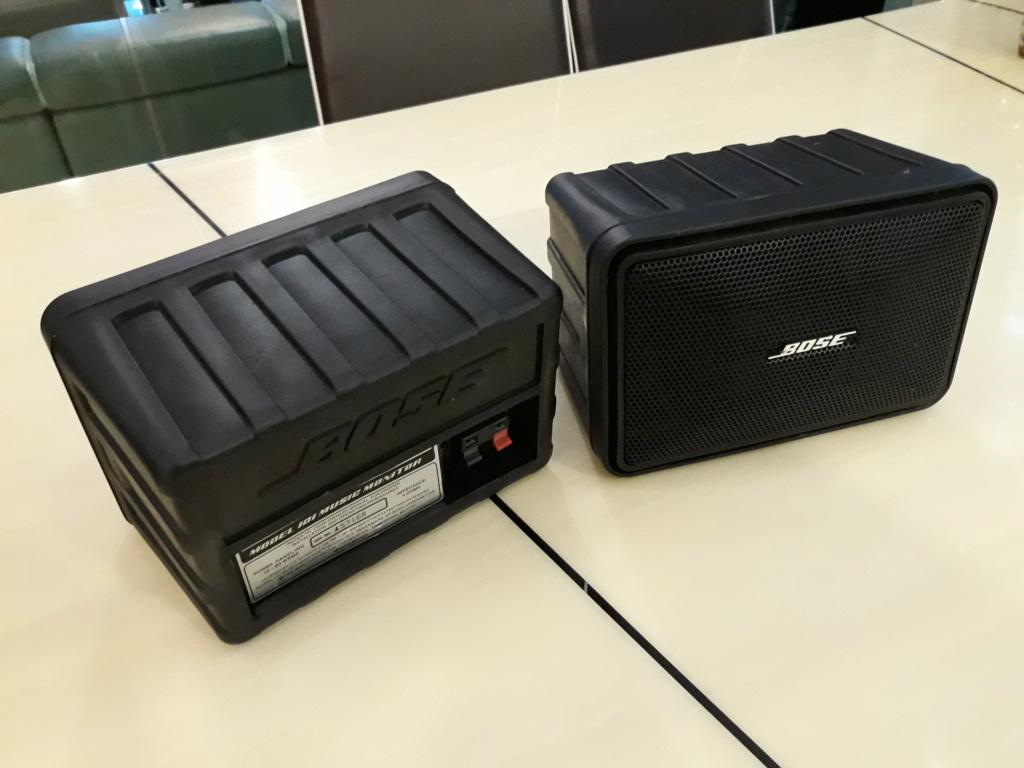 BOSE 101 surround retro speaker.  20181017