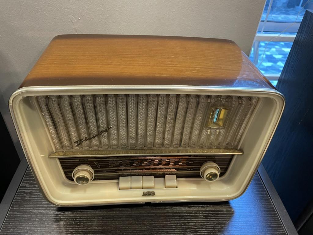 AEG Super Bimby 60 tube radio. 20946f10