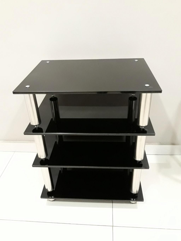Black Pearl SE hifi rack. Carous16