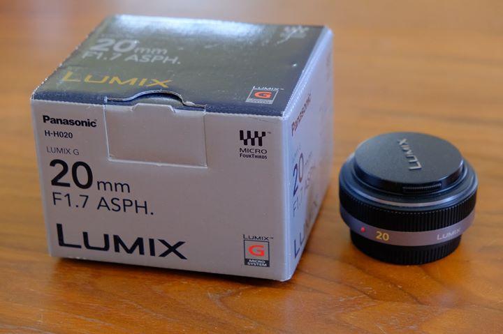 [VENDU] Objectif Panasonic 20 mm/F 1.7 LUMIX G ASPH 55752410