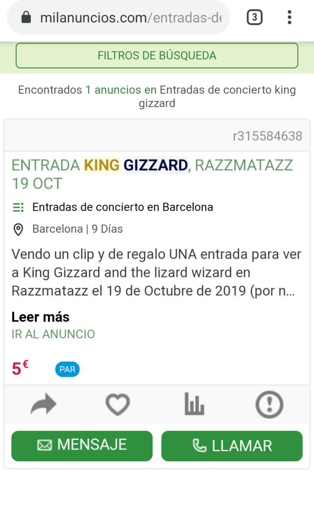 King Gizzard & the Lizard Wizard - INFEST THE RATS' NEST (2019) - Página 18 Screen10
