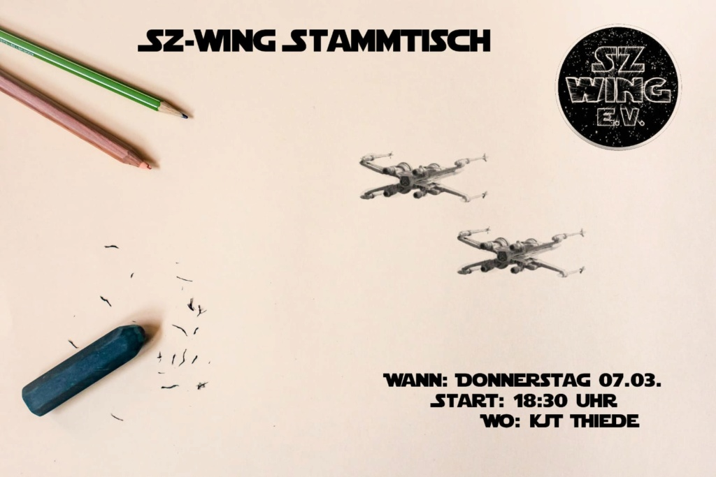 Salzgitter-Thiede - X-Wing Stammtisch des SZ-Wing e.V. Stammt13