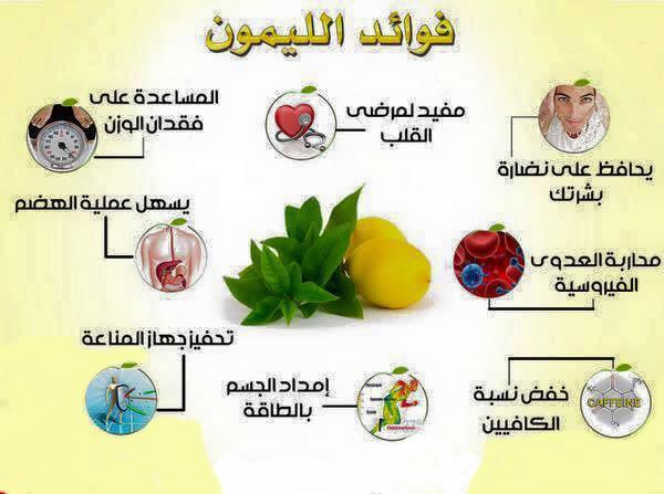 الفوائد الطبية لليمون 1312