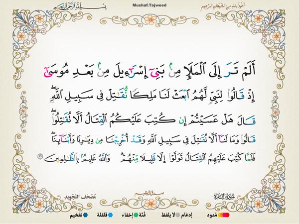 الآية 246 من سورة البقرة الكريمة المباركة Aeoo_210