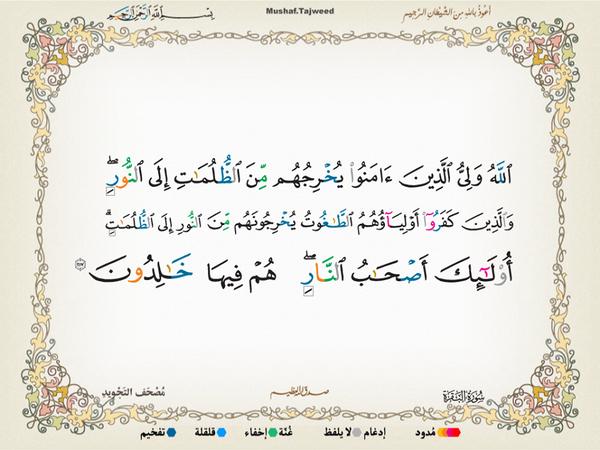 الآية 257 من سورة البقرة الكريمة المباركة Aeoo_224