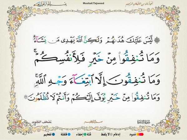 الآية 272 من سورة البقرة الكريمة المباركة Aeoo_240