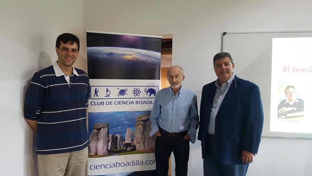 """18-10-2019 Conferencia """"El Antropoceno: el temible tiempo del hombre"""" (Francisco Anguita) 2019-114"""