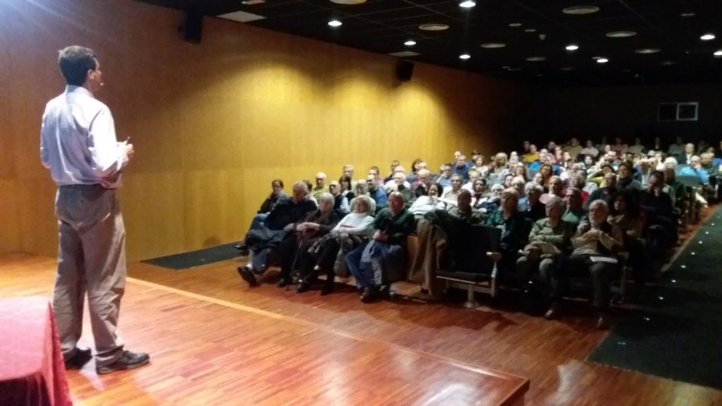 """31-01-2020 Conferencia """"Prehistoria de la compasión"""" (Roberto Saez) 2020-013"""